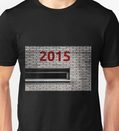 2015 brick work Unisex T-Shirt