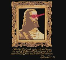 My Saviour has Laser Eyes