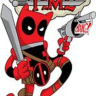Deadpool Time by AngelGirl21030