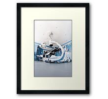 operating room Framed Print