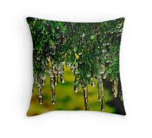 Crystal Cathedral Throw Pillow
