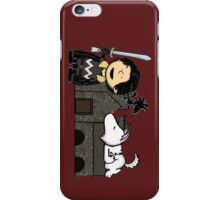 Jon Snow Peanuts iPhone Case/Skin