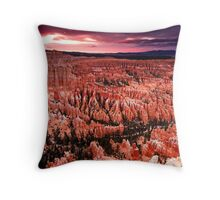 Bryce Canyon Sunset Throw Pillow