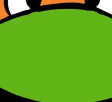 Michelangelo Face Sticker