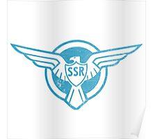 SSR Blue Poster