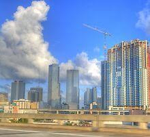 Downtown Miami - DSC_1550 by Roland Pozo