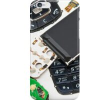 disassembled phone  iPhone Case/Skin