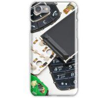 disassembled phone  iPhone Case/Skin