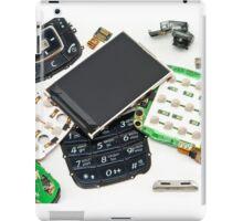 disassembled phone  iPad Case/Skin