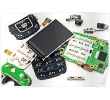 disassembled phone  Poster