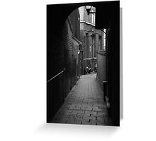 Alleyway Jerusalem Tavern Greeting Card