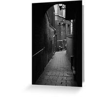 Alleyway Jerusalem Tavern Greeting Card