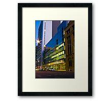 Advertiser Building Framed Print