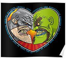 Mutant Vs Cyborg: A Love Story Poster