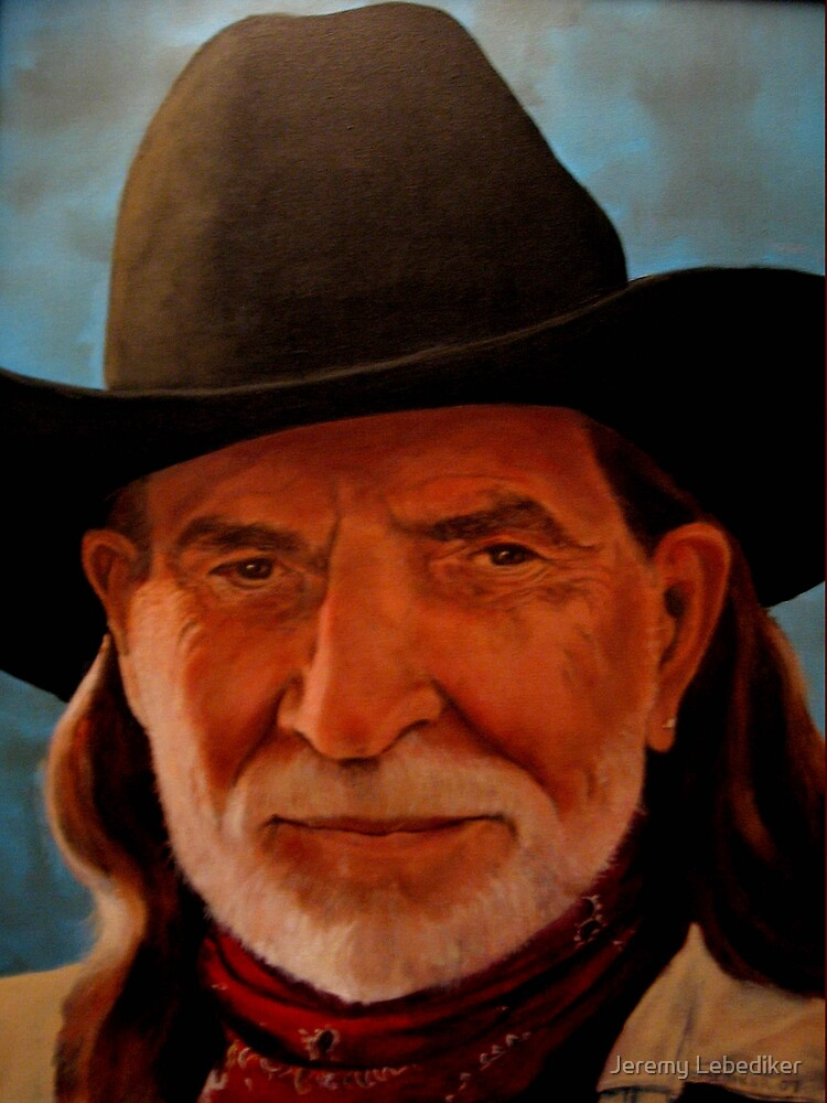 Willie Nelson by Jeremy Lebediker