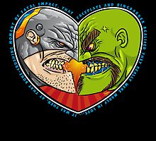 Mutant Vs Cyborg: A Love Story - card sized by Simon Sherry