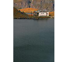 lakeside faith Photographic Print