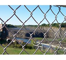Dry Cohoes Falls Photographic Print