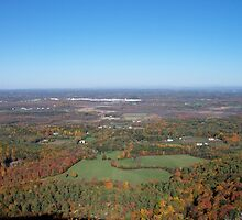 Landscape of Albany and Rensselaer Counties by batkins