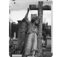 Angel with cross Brompton Cemetery iPad Case/Skin