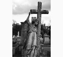 Angel with cross Brompton Cemetery Unisex T-Shirt