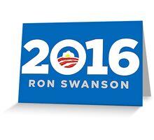 Ron Swanson 2016 shirt hoodie pillow mug iPhone 6 iPad case Greeting Card