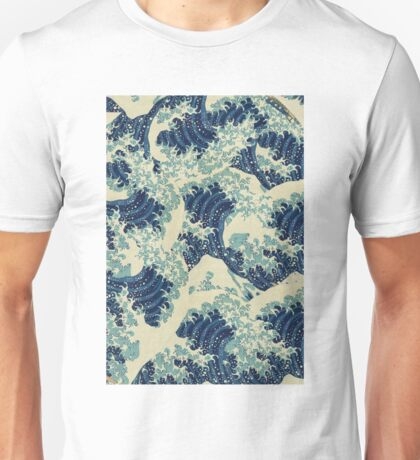 THE GREAT WAVE OFF - Kanagawa  Unisex T-Shirt