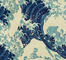 THE GREAT WAVE OFF - Kanagawa  Sticker