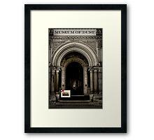A Gift for Cog Framed Print