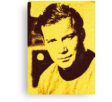 Yellow Kirk Canvas Print