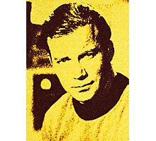 Yellow Kirk Photographic Print