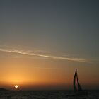 Sunset Sailing by Stuart Cottam