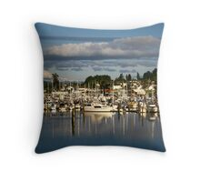 GIg Harbor Throw Pillow