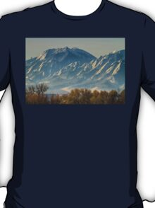 Colorado Flatiron Autumn View T-Shirt