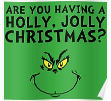 A holly, jolly Christmas? Poster