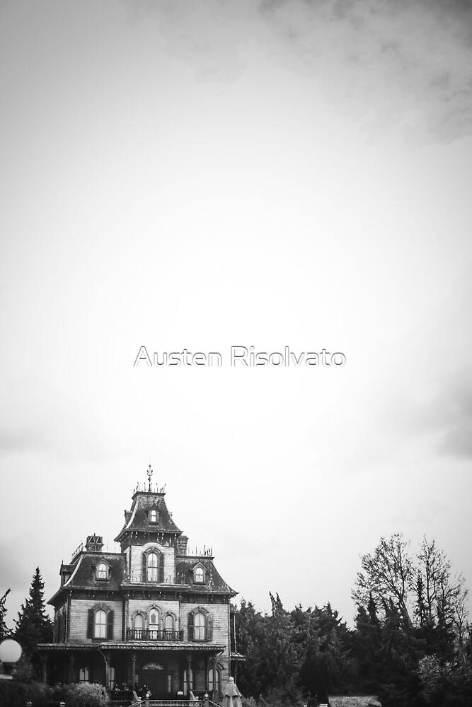 Phantom Manor En Noir Et Blanc by Austen Risolvato