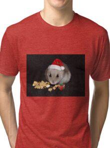 Oreo Ready for Santa Tri-blend T-Shirt