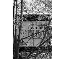 old ice cream truck Photographic Print
