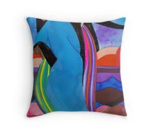 Sky Spirits Throw Pillow