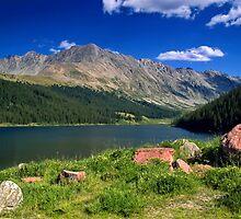 Clinton Creek Lake by John  De Bord Photography