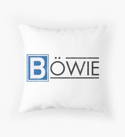Bowie's Berlin - U-Bahn Logo Throw Pillow