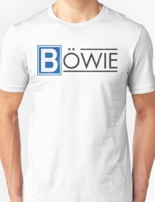 Bowie's Berlin - U-Bahn Logo Unisex T-Shirt