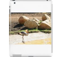 East African Crowned Crane iPad Case/Skin