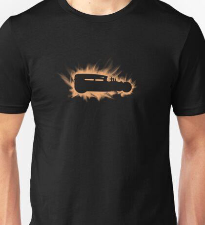 1930 Ford Rat Rod flames Unisex T-Shirt