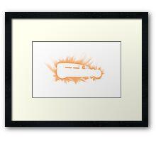 1930 Ford Rat Rod flames Framed Print