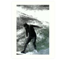 Spring Surfing Art Print