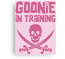 Goonie in Training - The Goonies Canvas Print