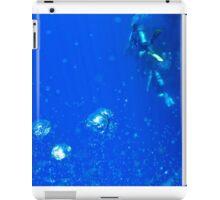 Underwater background  iPad Case/Skin