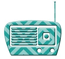 Vintage Radio by surgedesigns