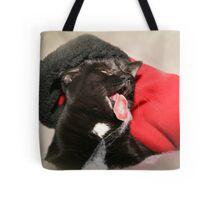 A Catitude Christmas Tote Bag